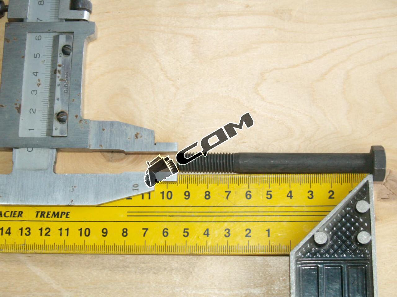 Болт скобы переднего стабилизатора М10х95 HOWO  Q150B1095TF2Q
